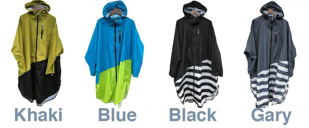 【 PORD レインポンチョ MENS フリーサイズ @4752 】RAIN PONCHO 雨具 カッパ アウトドア 自転車 サイクル フェス