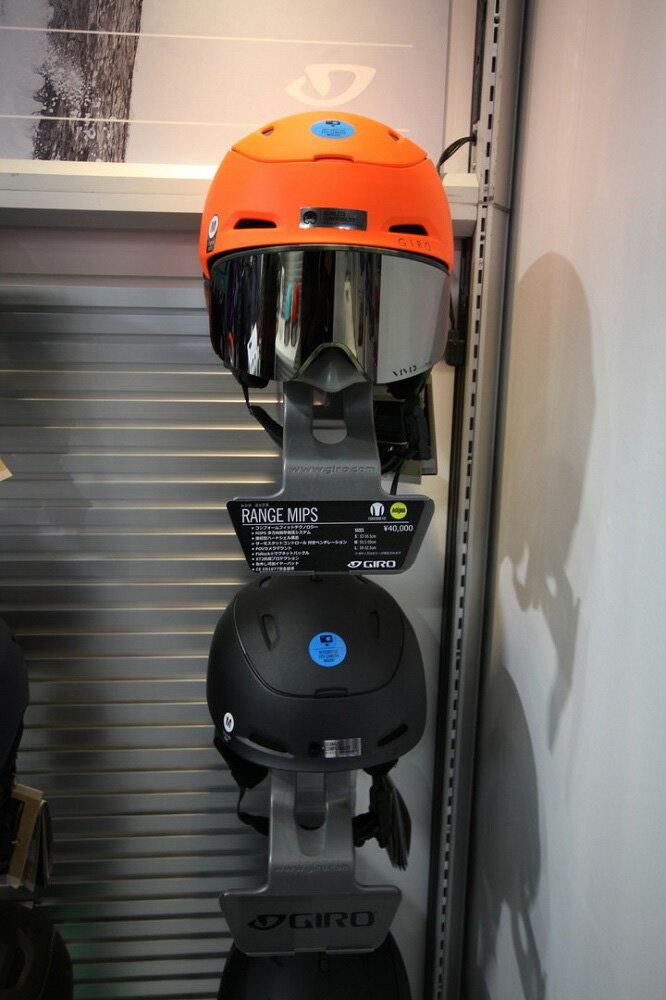 GIRO SNOW HELMET [ RANGE MIPS @43200] ジロ ヘルメット 安心の正規輸入品 【送料無料】