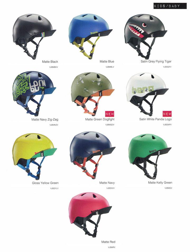 【ジュニア用】 bern (バーン)ヘルメット [ NINO HELMET @10260] オールシーズンタイプ キッズ 2017/18モデル