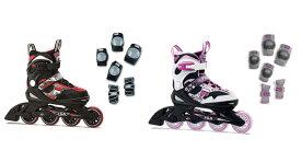 FILA JR. INLINE SKATE 20/21[ ジュニア インラインスケート & プロテクター セット J-ONE @22000] 【正規代理店商品】【送料無料】