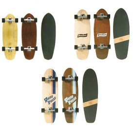 [ WOODY PRESS CARVING @18500] SURF SKATE サーフスケート 【正規代理店商品】