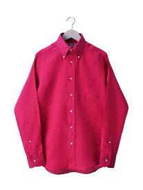 インディビジュアライズドシャツ INDIVIDUALIZED SHIRTS メンズ リネンBDシャツ STANDARD FIT