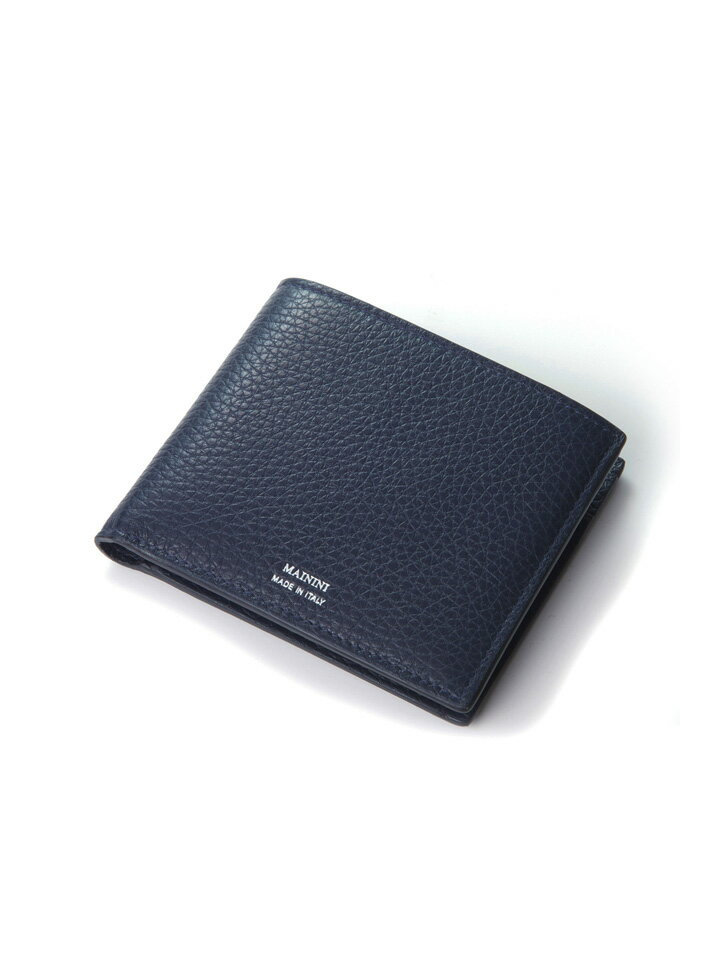 マイニーニ MAININI メンズ レザー二つ折財布 MA398DR