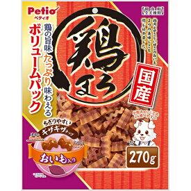 Petio(ペティオ) 鶏まろ ギザギザチップ おいも入り 270g