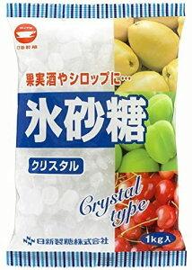日新製糖 氷砂糖 1kg クリスタルタイプ