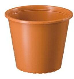 大和プラスティック プラ鉢 5号 茶色