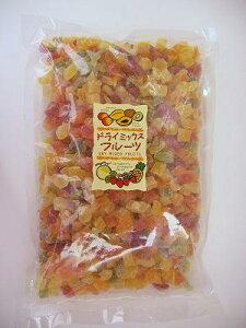 ドライミックスフルーツ 6種 1kg(マンゴー・パパイヤ・キウイ・いちご・パイナップル・メロン入り)
