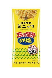 湖池屋(コイケヤ) ミニッツスティックポテト のり塩 40g
