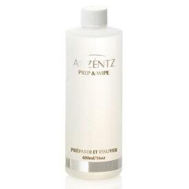 ジェルネイル アクセンツ ネイルプレップ&ワイプ 480ml 【AKZENTZ】 専用の消毒・拭取り溶剤です♪