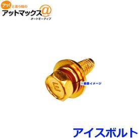 ※ゆうパケ配送※ ICE FUSE アイスフューズIB-M6 アイスボルト M6 高純度金メッキ 極低温冷却処理 アーシング アイスヒューズ{IB-M6[9980]}