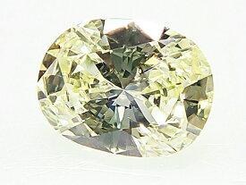 0.387ct LIGHT.YELLOW,SI1,オーバル ダイヤモンド ルース