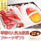 季節の人気&厳選フルーツギフトあまおういちごアップルマンゴー