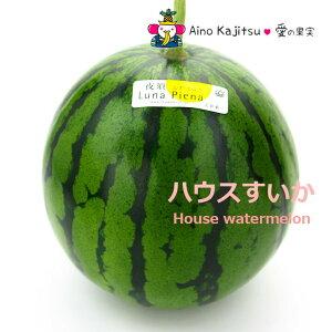 夜須のハウスすいか(西瓜)(ルナ・ピエナ)4500円