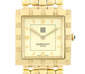 【GIVENCHY】ジバンシィ REG1558962 イエロー アイボリー 文字盤 SS ステンレススチール YGP イエローゴールド メンズ クォーツ ジバンシー【中古】【腕時計】