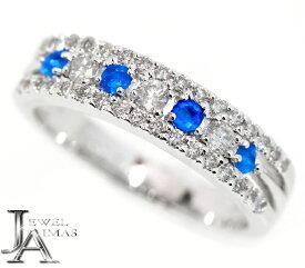 アウイナイト 0.11ct ダイヤモンド 0.39ct アウイナイトリング 11号 PT900 プラチナ【ジュエリー】【新品】MJJZ