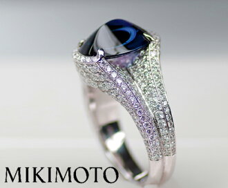 Phantom goods Mikimoto Alexandrite 4.5 ct diamond 2.33 ct ring PT950