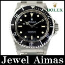 【ROLEX】ロレックス サブマリーナ アンティーク 5513 86番 1984年頃製 ブラック 文字盤 SS ステンレス メンズ 自動巻き【中古】【腕時計】