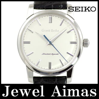 Seiko Grand Seiko anniversary 130 model 1300 books limited SS SBGW033 silver character dial stainless steel men's handmade
