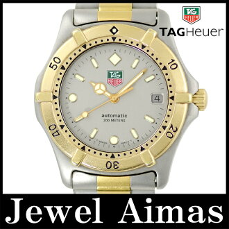 Tag Heuer 665.006 F 200 m waterproof grey characters Edition Combi YGP SS stainless steel men's automatic