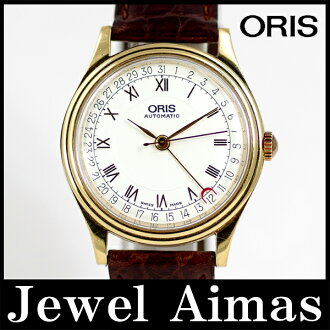 Oris pointer date 7403 white characters Edition SS stainless steel back scale mens automatic winding