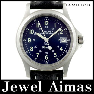 Hamilton Khaki khaki King 9823 Navy letter Board soles scale SS stainless steel mens automatic winding