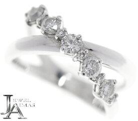 【POLA】ポーラ ダイヤモンド 0.55ct リング 11号 PT950 【中古】