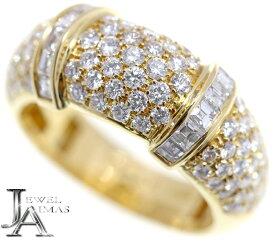 【BOUCHERON】ブシュロン スカラ Scala ダイヤモンド リング K18YG 750YG 12号 イエローゴールド【中古】