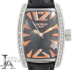 【ROCMAN】ロックマン PANORAMA パノラマ ダイヤベゼル 151 ブラック 文字盤 SS ステンレス メンズ クォーツ【中古】【腕時計】