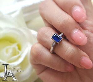 カイアナイト カイヤナイト 1.195ct ダイヤモンド 0.16ct リング 11.5号 PT900 プラチナ【中古】【ジュエリー】MEJ