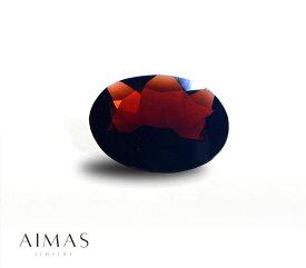 ガーネット 柘榴石 10.5ct オーバルカット ガーネットルース 裸石 【ルース】RMM.E/BS