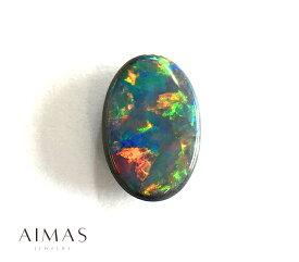 ブラックオパール 1.107ct オーバル オパールルース 裸石 <ソーティング付き> 【ルース】RMM.E/BS