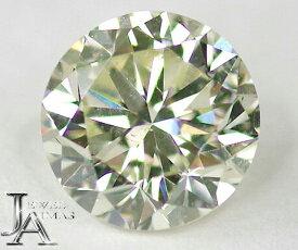 ダイヤモンドルース 0.617ct VERY LIGHT GREENISH YELLOW SI-1 ベリーライト・グリーニッシュ・イエロー <中央宝石>
