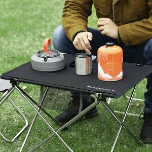 アウトドア 折りたたみ 58cm テーブル ブラック キャンプ コンパクト 組立簡単 軽量 軽い スマート おしゃれ ソロキャンプ BBQ バーベキュー 運動会 ピクニック 登山 サバイバル 小型 簡易テー