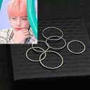 5個セット 5サイズ リング 指輪 ステンレス かっこいい 韓流 かわいい リングセット 男性 女性 男女兼用 プレゼン…