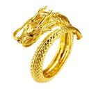 龍 フリーサイズリング ゴールドカラー ドラゴン 竜 リング 幸運 風水 指輪 シンプル 指輪 お洒落アイテム メンズ レ…