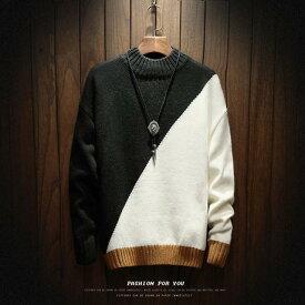 斜め ツートンカラー ストリート オーバーサイズ k-pop hiphop 韓流 韓国 ビッグシルエット street クラブ系 原宿系ファッション