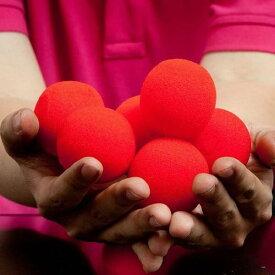 マジック 5個セット スポンジ ボール 小道具 ソフト マジック トリック 手品 ドッキリ 道具 舞台 宴会 一発芸 初心者用