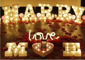 アルファベットライト 特大サイズ 全種類+& A〜Zの内、A〜T マーキーライト イニシャル アルファベット ホームイベント パーティーグッズ インテリア 照明 インテリアランプ 飾り付け 装飾 大人 女の子 男の子 ギフト 誕生日 ハーフ バースデー 記念日 パーティー 結婚式
