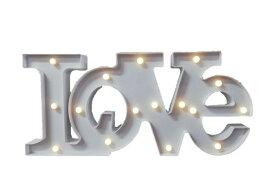 特大 LOVEマーキーライト ホワイト インテリア 照明 お洒落 アンティーク デザイン ラブライト 灯 可愛い 装飾 オブジェ ライト ランプ 人気