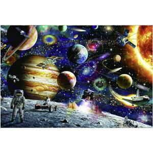 ジグソーパズル 惑星 1000ピース 太陽 銀河 星 スター ムーン moon パズル 宇宙 宇宙飛行士 知育玩具 知育 幼児 子供 教育 教材 おもちゃ 遊び 学べる 5歳 6歳 子供 キッズ プレゼント 誕生日 教育