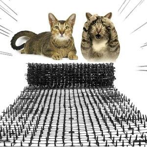 猫よけ 害獣よけ とげマット 鳥よけ シート スパイク 猫マット ベランダ 玄関 ハト避け 猫 糞害対策 侵入防止 予防 害獣 畑 バード 長さカット 可能 防鳥 カラス対策 からすよけ 家庭菜園 農