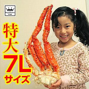 タラバガニ脚(たらば蟹足) 7Lサイズ(約1.5kg) 送料無料 | 内祝い 誕生日 プレゼント カニ かに お祝い ギフト お歳暮 お中元 かにしゃぶ 蟹 カニしゃぶ 7l タラバガニ 冷凍 タラバ たらば蟹 たら