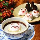 Latteラテ マシュマロ ラテマル 3個 ねこチョコ 2個 お家の箱 | お返し 子供 かわいい 猫 誕生日プレゼント お菓子 動…