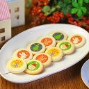 クリスマス クッキー 10枚入り 個包装 お菓子 お家のギフト箱入り(サンタクロース・赤鼻のトナカイ・雪だるま・ツリー…