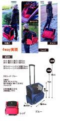 犬猫お出かけ用キャスター付ペットカート・旅行キャリーバッグ&リュック(防災避難用品)