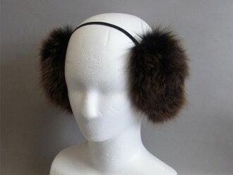 FOX fur ear muffs ear muffs