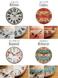 掛け時計壁掛け時計おしゃれ掛時計ヴィンテージ壁掛け時計クロック西海岸ブルックリンインテリア雑貨壁掛けモチーフクロックVille〔ヴィル〕