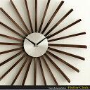 【送料無料】 掛け時計 壁掛け時計 時計 おしゃれ 掛時計 クロック ウォールクロック ジョージネルソン George Nelson 北欧 レトロ ミッドセンチ...