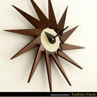 【送料無料】壁掛け時計、時計、置き時計クロック、ウォールクロック、レトロ、モダン、北欧、シンプル、TurbineClock〔タービンクロック〕