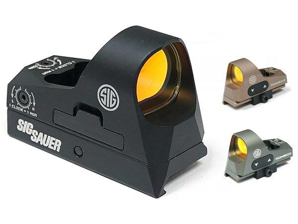 【SIG SAUERタイプ】 ROMEO3 1x25 MM コンパクトドットサイト《20mmレイル対応/QDレバー式ハイマウント装備》《金属製》
